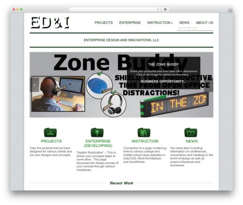 WordPress theme Adapt - edi3di.com
