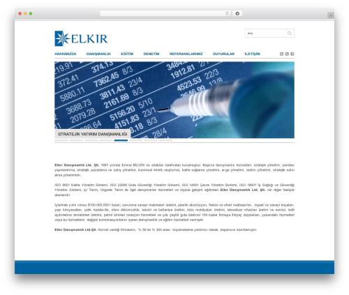 Clean Slate theme WordPress - elkir.com.tr
