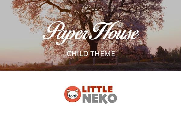 Paperhouse Child WordPress theme design