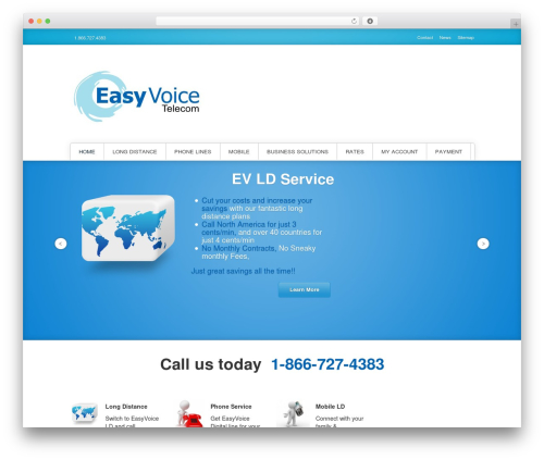 Poseidon WordPress theme free download - easyvoice.ca