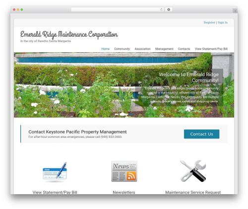 Theme WordPress Spacious Pro - emeraldridgersm.com