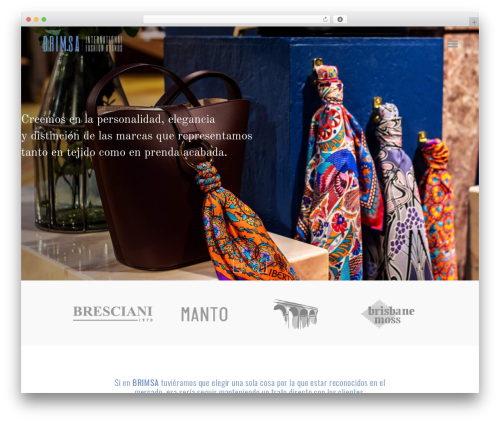 WordPress theme Bazaar - brimsa.com