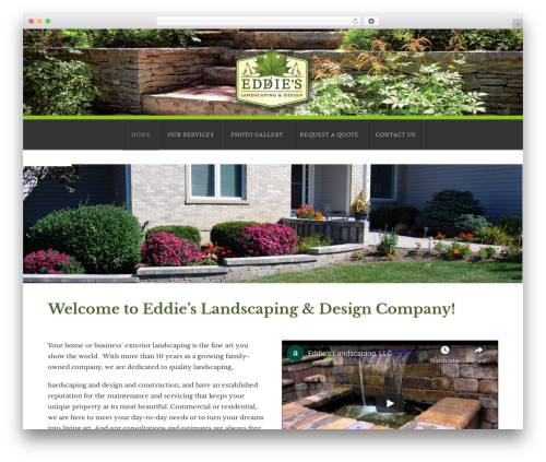 X theme WordPress - eddieslandscapingdesign.com