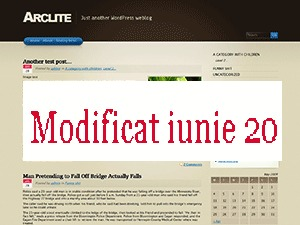 Arclite WordPress theme