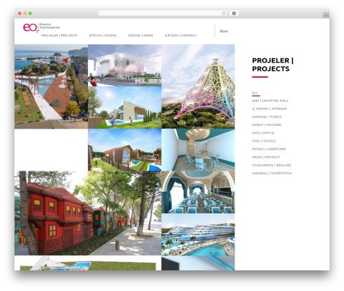 Domik theme WordPress - eomimarlik.com