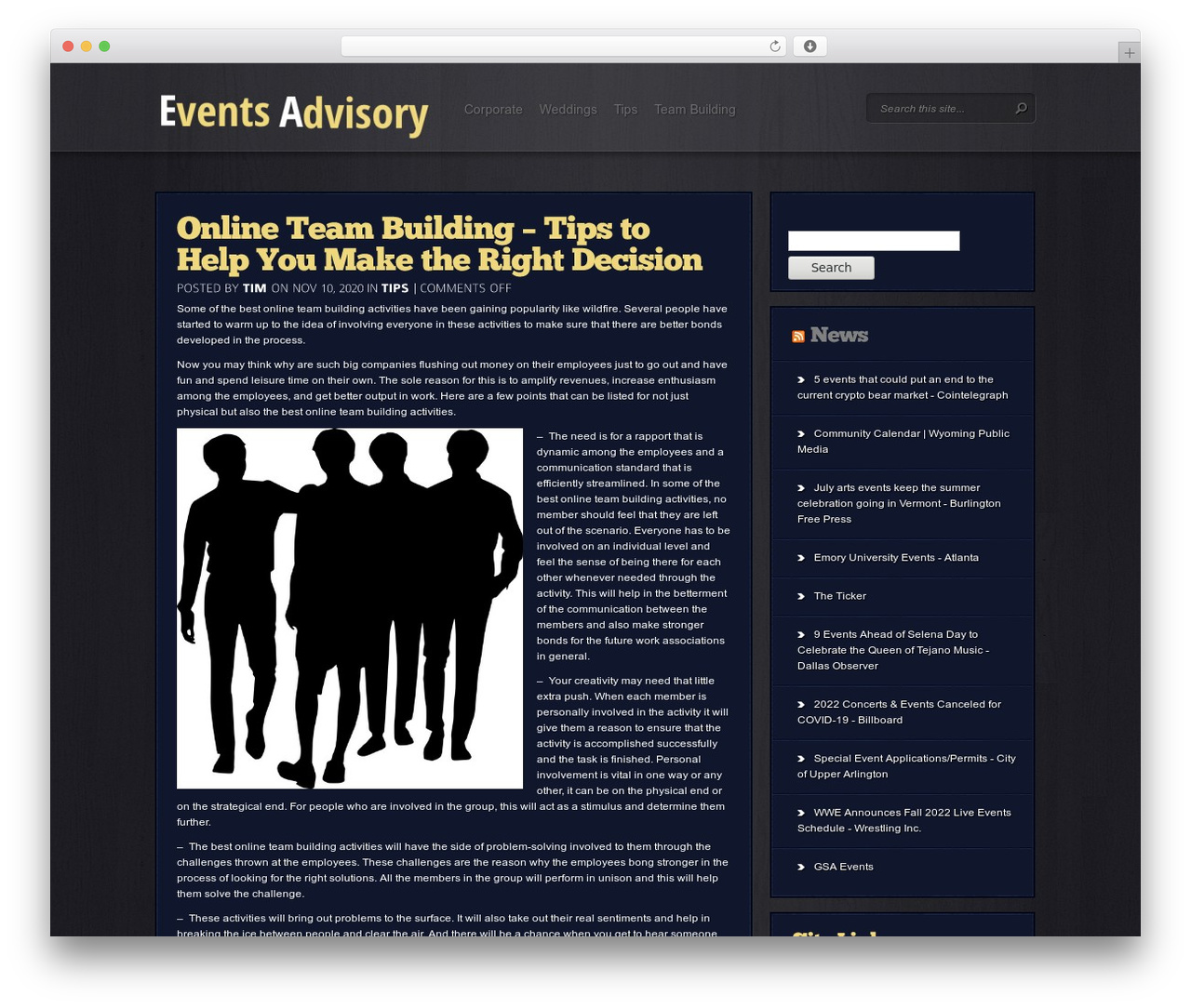 Event theme free download by Themify - eventsadvisory.com