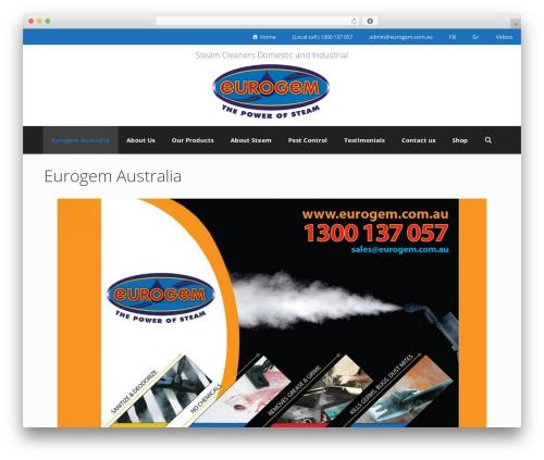 GeneratePress WordPress template free download - eurogem.com.au