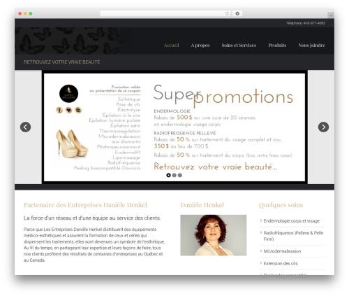 Hairdo theme WordPress - esthetiquekathywilliams.com