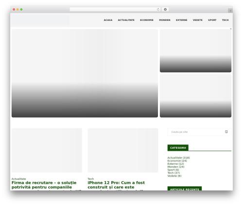 soledad WordPress website template - expresul.ro