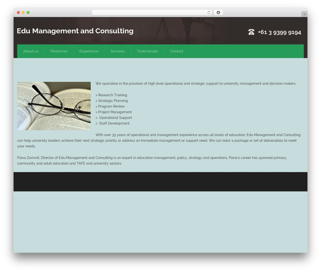Theme WordPress Attorney - edumc.com.au