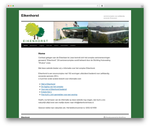 Twenty Ten WordPress template free - eikenhorst-lisse.nl