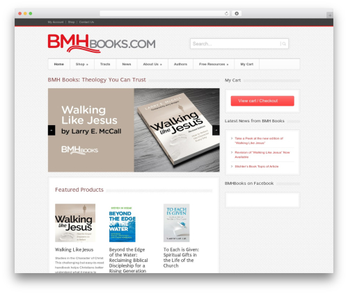 Bangkok Press WordPress theme - bmhbooks.com