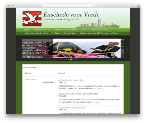 Best WordPress template Swatch - enschedevoorvrede.nl