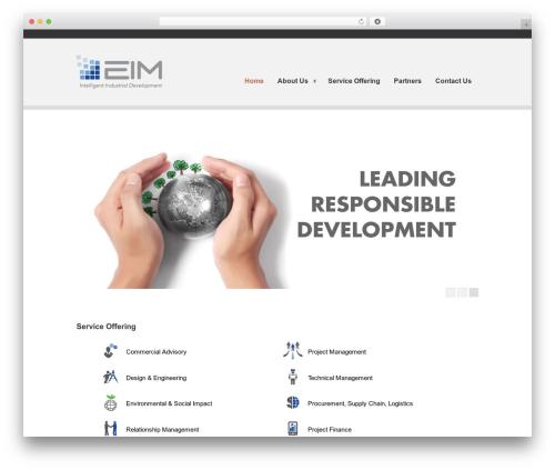 Clearly Modern premium WordPress theme - eimadvisory.com
