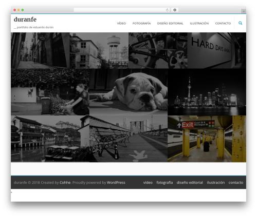 Longform free WP theme - eduranfe.com