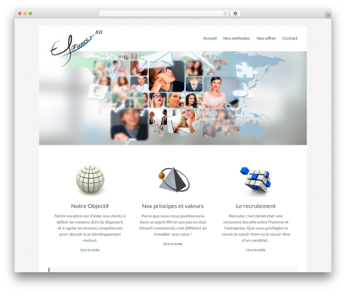 Spacious WordPress template free download - effience-rh.com