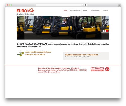 Template WordPress LUZ TI - eurocarretillas.es