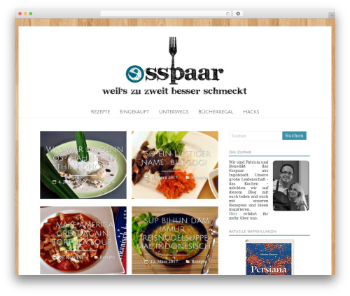 Theme WordPress Freedom - esspaar.de