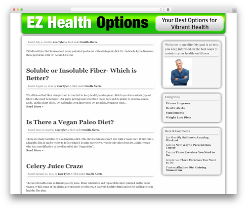 Free WordPress Companion Sitemap Generator plugin - ezhealthoptions.com