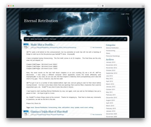 BlueMoD WP template - eternalretribution.net