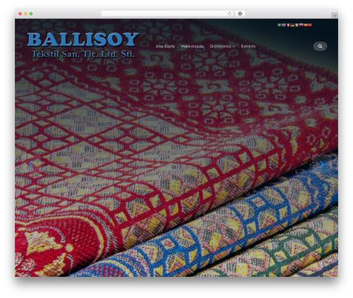 Businessx free WordPress theme - ballisoy.com.tr
