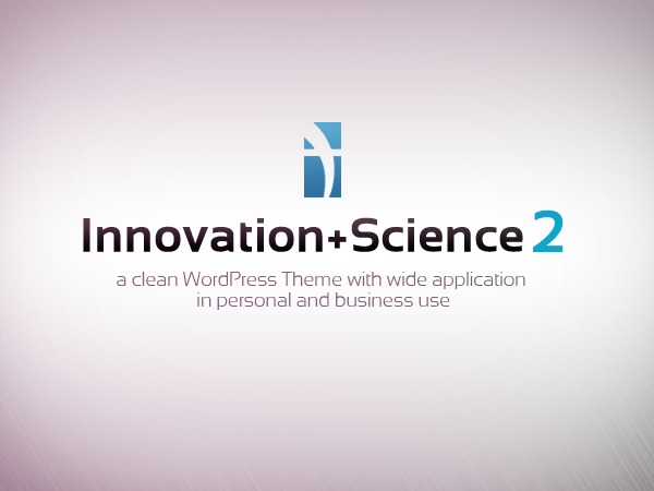 Innovation Science Wordpress Theme business WordPress theme