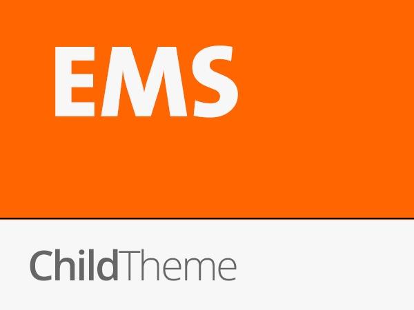 Theme WordPress EMS Child