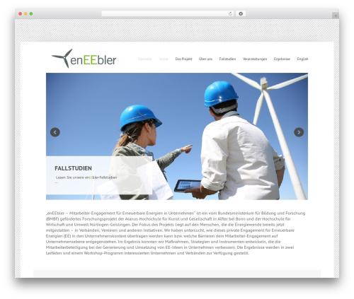 Widely template WordPress - eneebler.de
