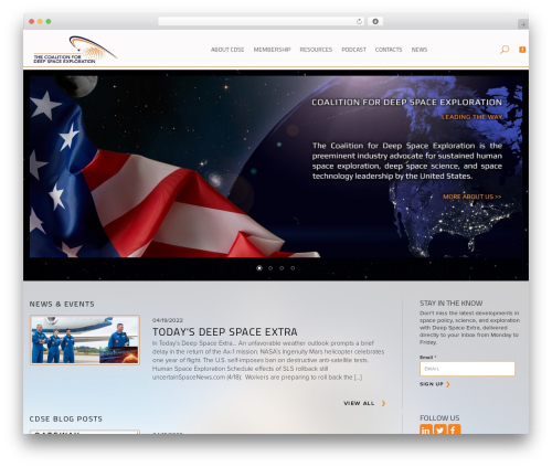 WordPress hmenu plugin - exploredeepspace.com