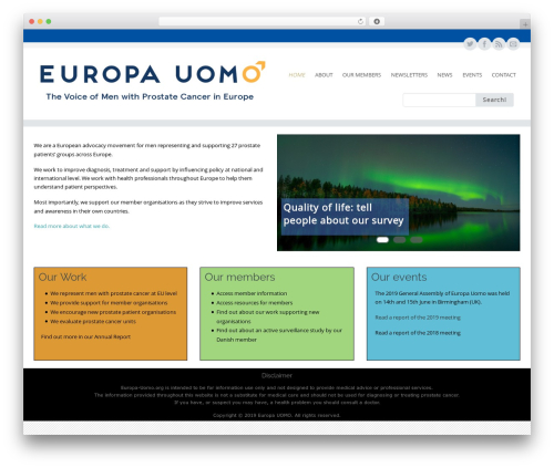Best WordPress theme Circumference - europa-uomo.org