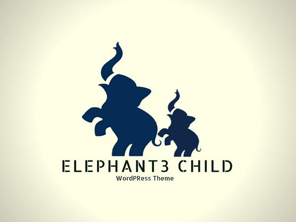 Best WordPress theme elephant3-child