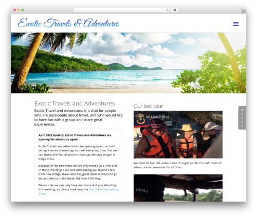 Free WordPress Ultimate Posts Widget plugin - exotictravelsadventures.com