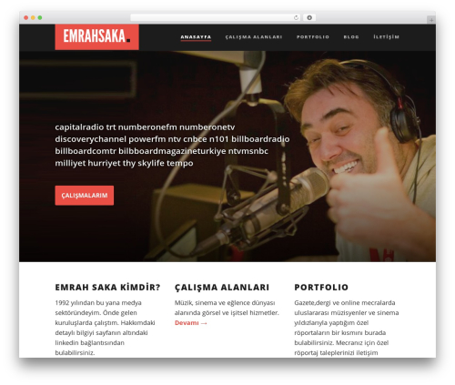 Suite theme WordPress - emrahsaka.com