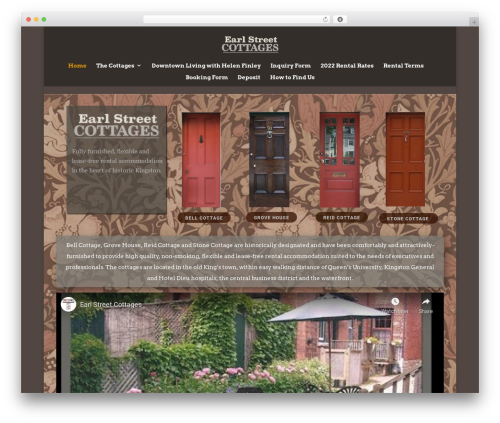 Template WordPress Divi - earlstreetcottages.com