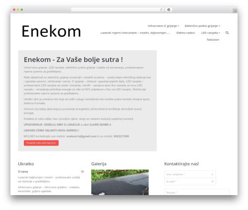 The7 (Share on Theme123.Net) WP theme - enekom.net