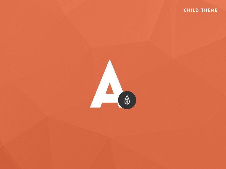 Alison Child WordPress blog template