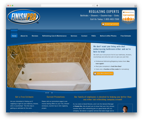 WordPress styles-with-shortcodes plugin - finishpro360.com