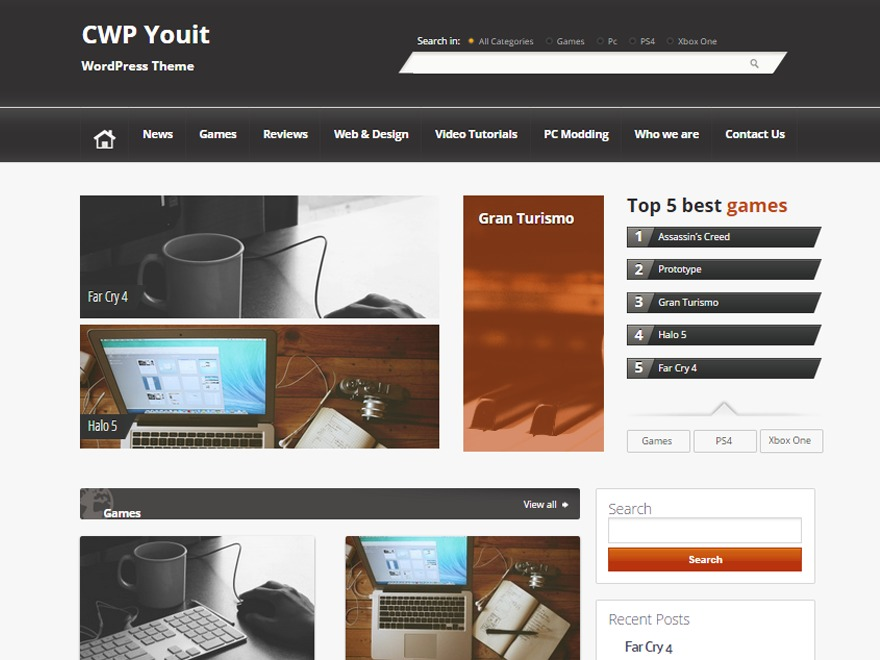 CWP-YouIT newspaper WordPress theme