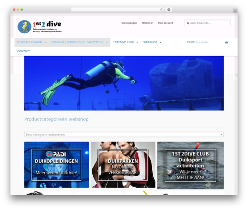 Free WordPress Very Simple Contact Form plugin - first2dive.nl