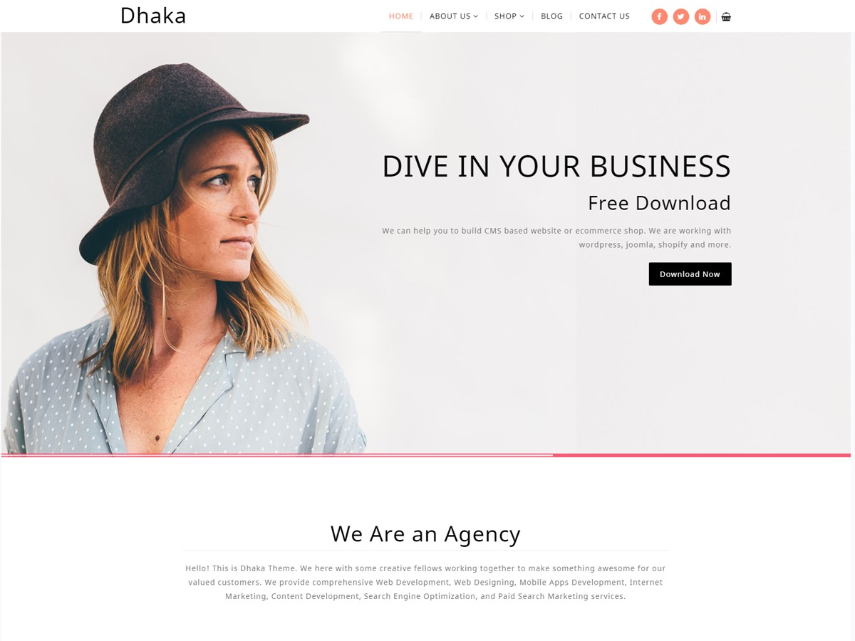 Dhaka theme free download