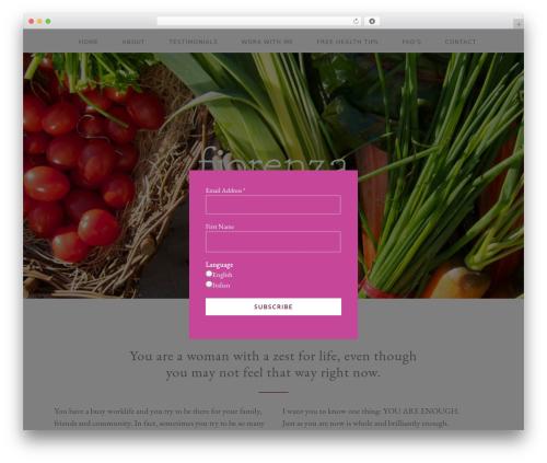 Free WordPress Responsive Tabs plugin - fiorenza.ca