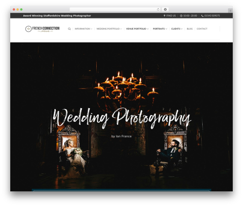 Flatsome theme WordPress - fcphotography.co.uk