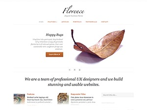 Florence Child WordPress blog theme