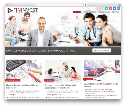 Free WordPress WP-PageNavi plugin - fininvest-courtage.fr