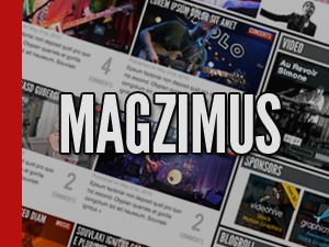 Magzimus premium WordPress theme