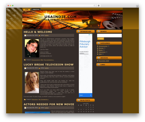 Moviereview Wordpress Video Template By Themepix Com