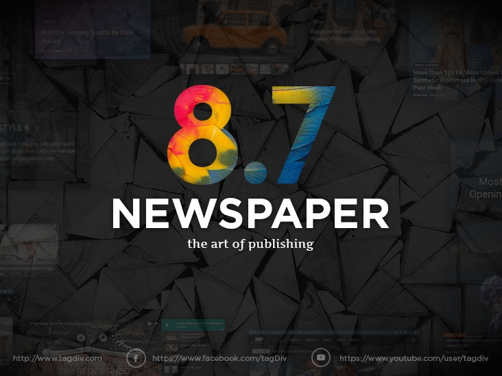 Newspaper WordPress news template