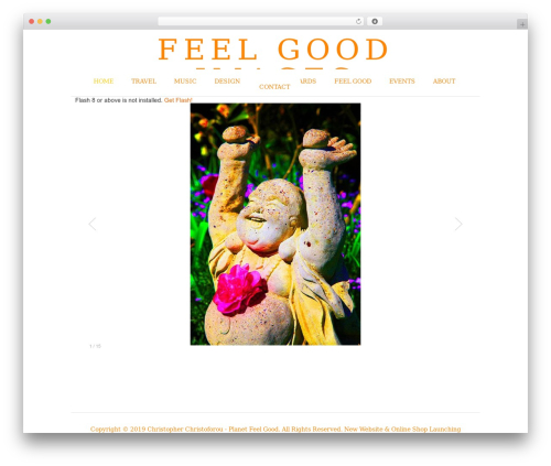 Photocrati Theme best WordPress gallery - feelgoodimages.com