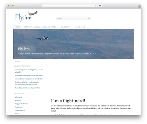 PlatformBase theme WordPress - fly.hm