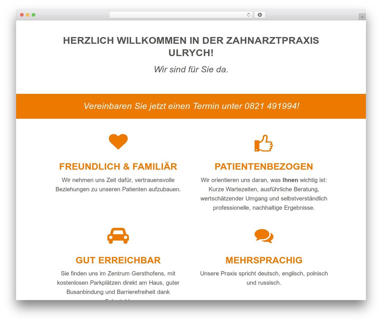 WordPress template jupiter - ulrych.de